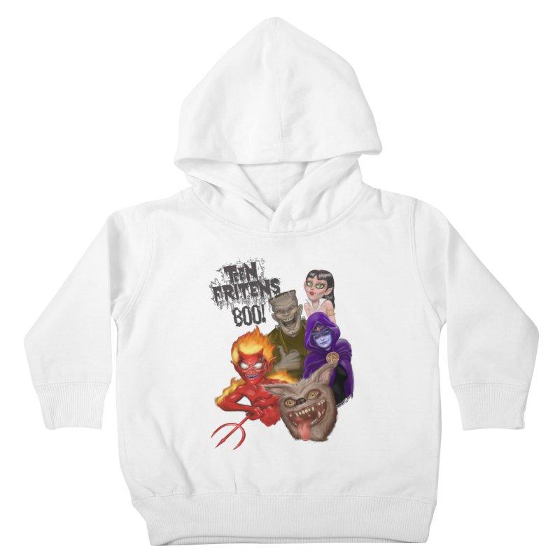 Teen Fritens BOO! Kids Toddler Pullover Hoody by joegparotee's Artist Shop