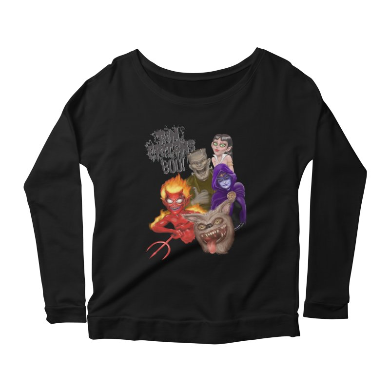 Teen Fritens BOO! Women's  by joegparotee's Artist Shop