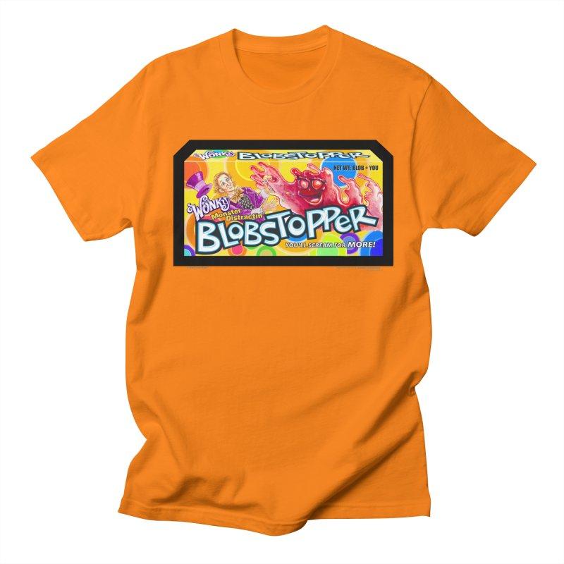 BLOBSTOPPER - joegparotees Men's Regular T-Shirt by joegparotee's Artist Shop