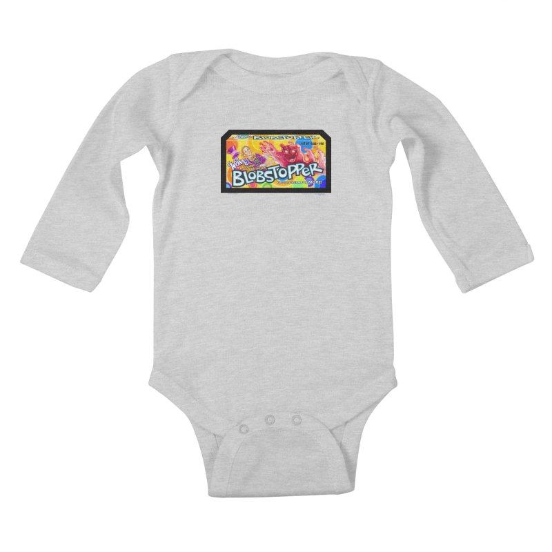 BLOBSTOPPER - joegparotees Kids Baby Longsleeve Bodysuit by joegparotee's Artist Shop