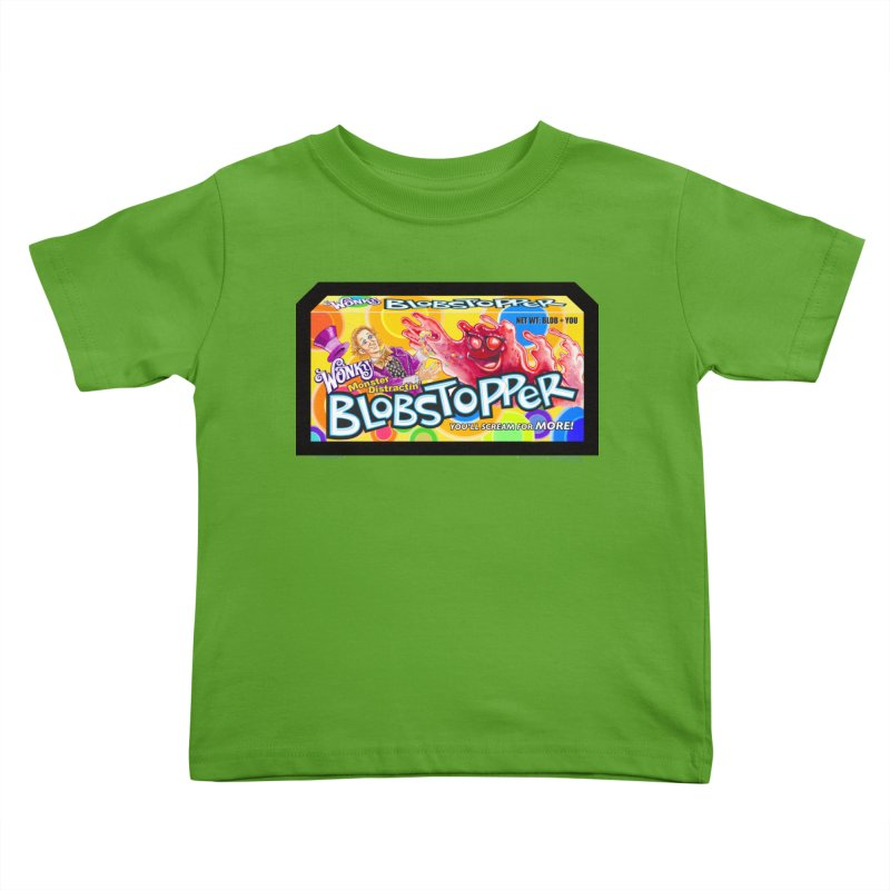 BLOBSTOPPER - joegparotees Kids Toddler T-Shirt by joegparotee's Artist Shop