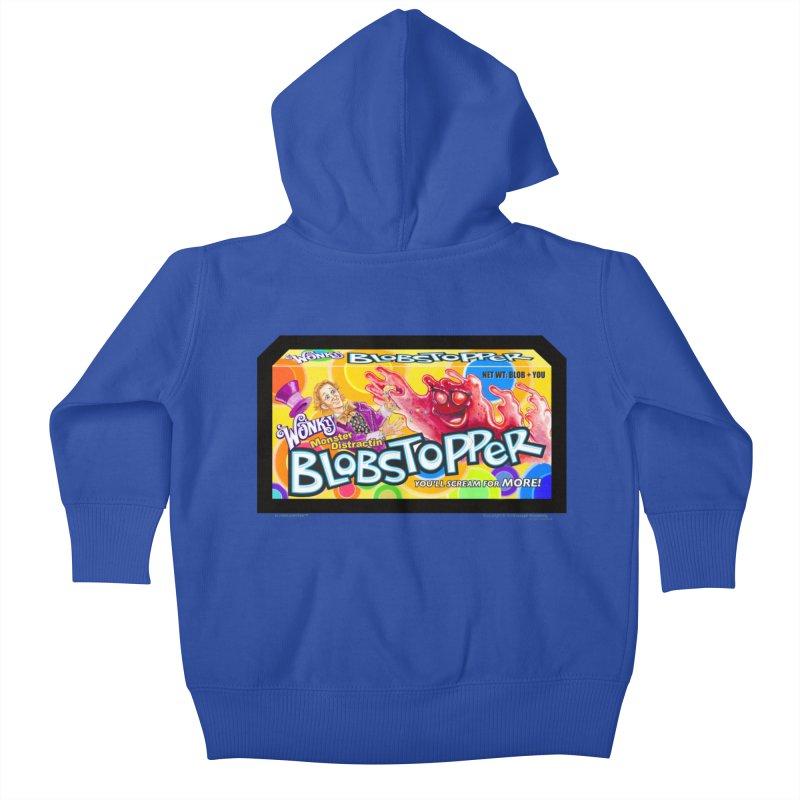 BLOBSTOPPER - joegparotees Kids Baby Zip-Up Hoody by joegparotee's Artist Shop