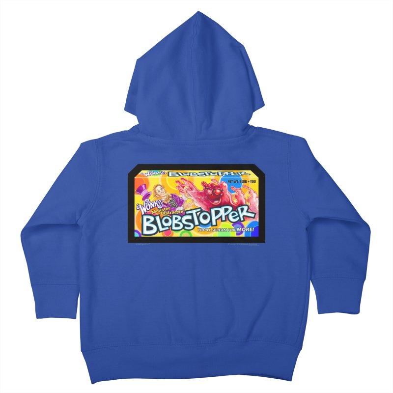 BLOBSTOPPER - joegparotees Kids Toddler Zip-Up Hoody by joegparotee's Artist Shop
