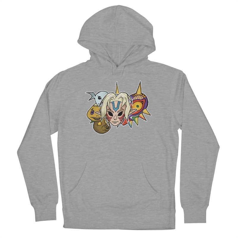 The Major Masks Women's Pullover Hoody by Joel Siegel's Artist Shop