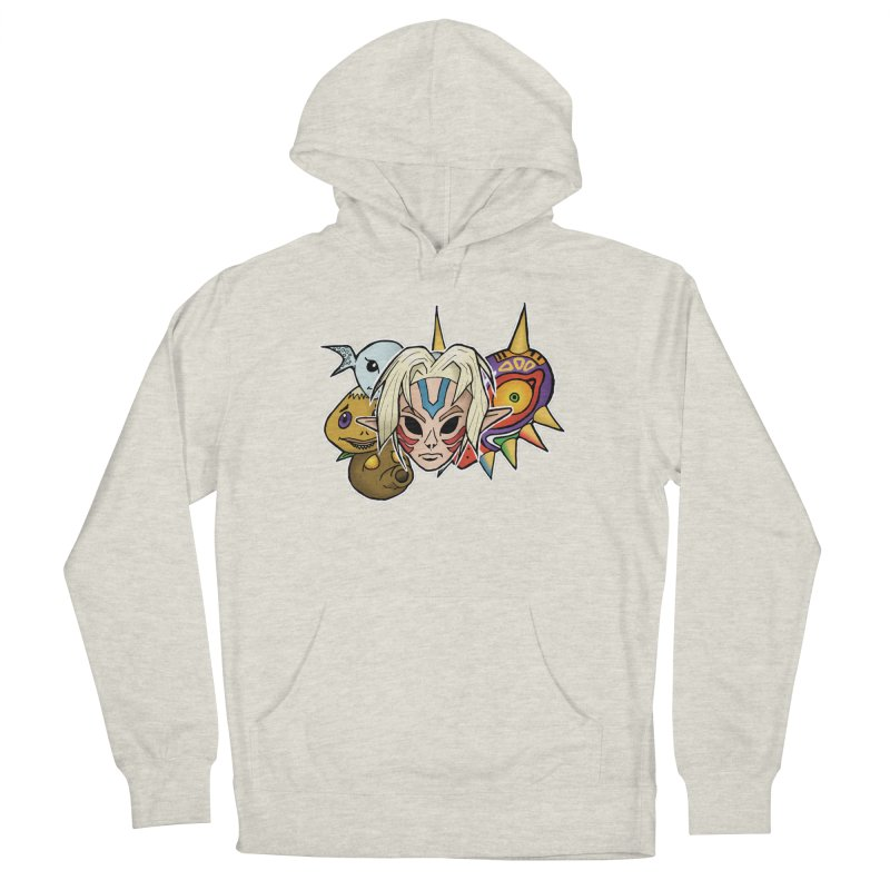 The Major Masks Men's Pullover Hoody by Joel Siegel's Artist Shop