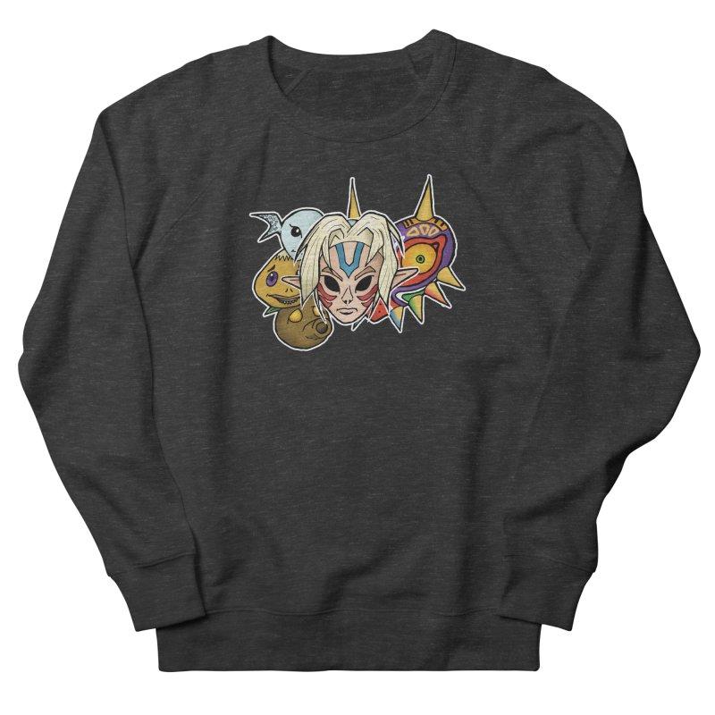 The Major Masks Women's Sweatshirt by Joel Siegel's Artist Shop