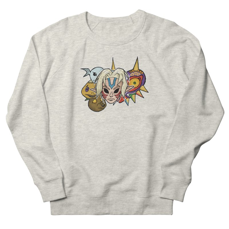 The Major Masks Women's Sweatshirt by Joel Siegel's Artist Shop