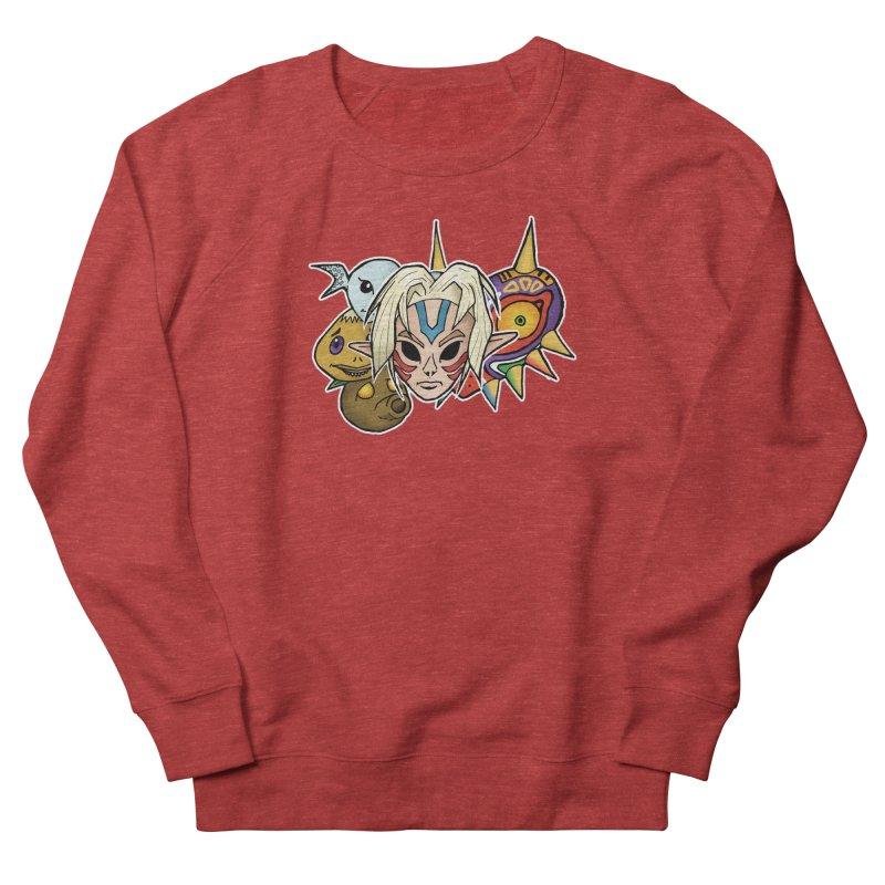 The Major Masks Men's Sweatshirt by Joel Siegel's Artist Shop
