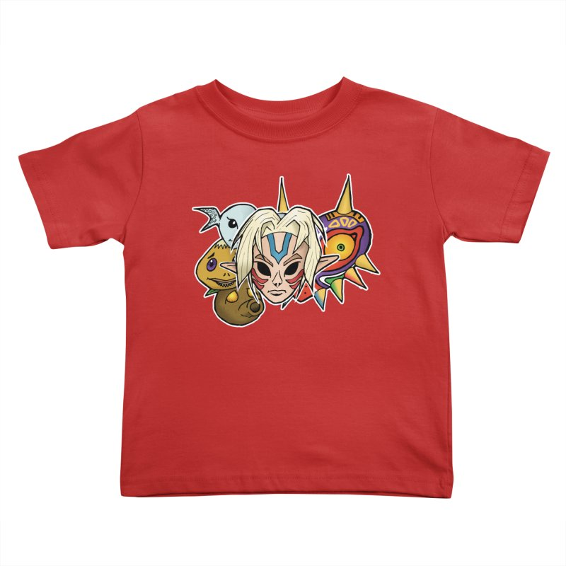 The Major Masks Kids Toddler T-Shirt by Joel Siegel's Artist Shop