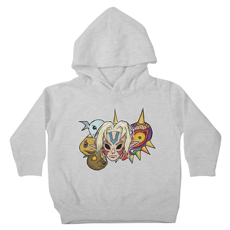 The Major Masks Kids Toddler Pullover Hoody by Joel Siegel's Artist Shop