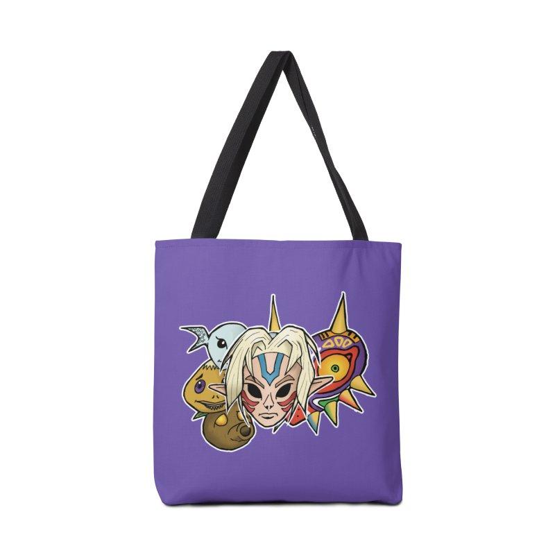 The Major Masks Accessories Tote Bag Bag by Joel Siegel's Artist Shop