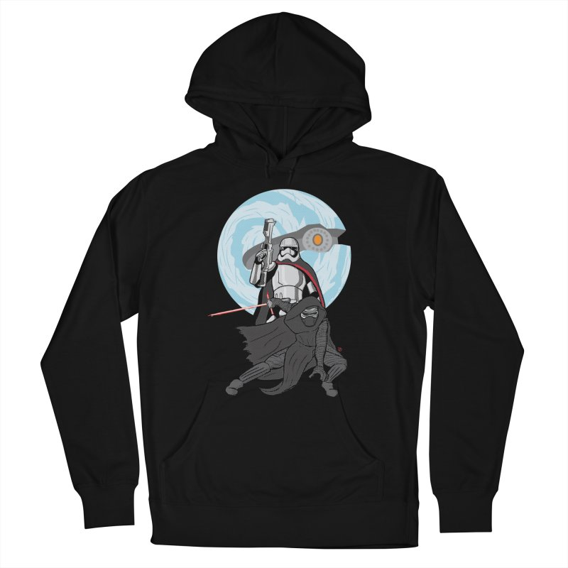 First Order Women's French Terry Pullover Hoody by Joel Siegel's Artist Shop