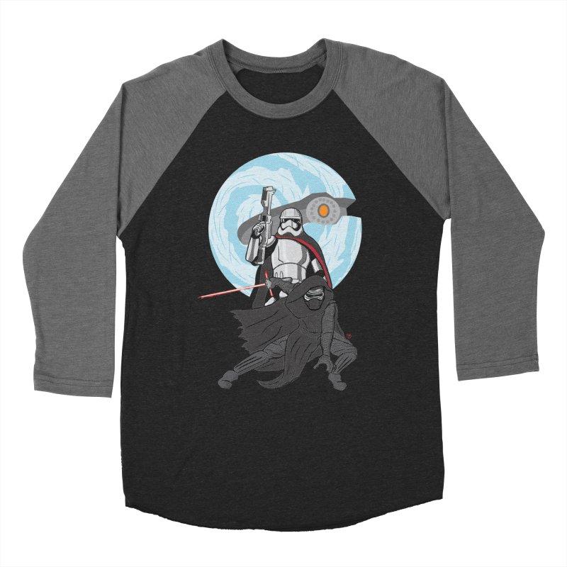 First Order Men's Baseball Triblend T-Shirt by Joel Siegel's Artist Shop