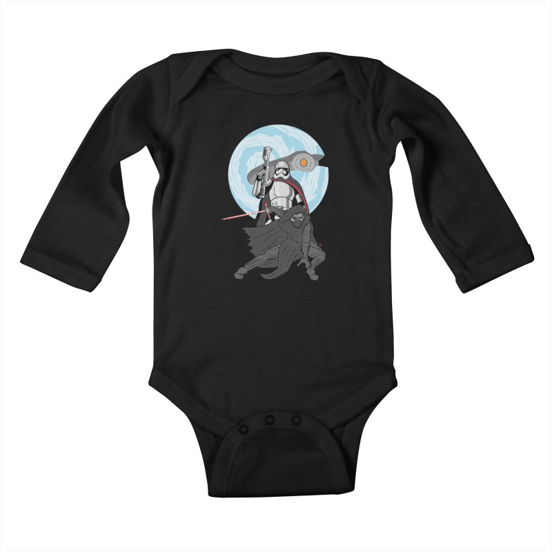 First Order Kids Baby Longsleeve Bodysuit by Joel Siegel's Artist Shop