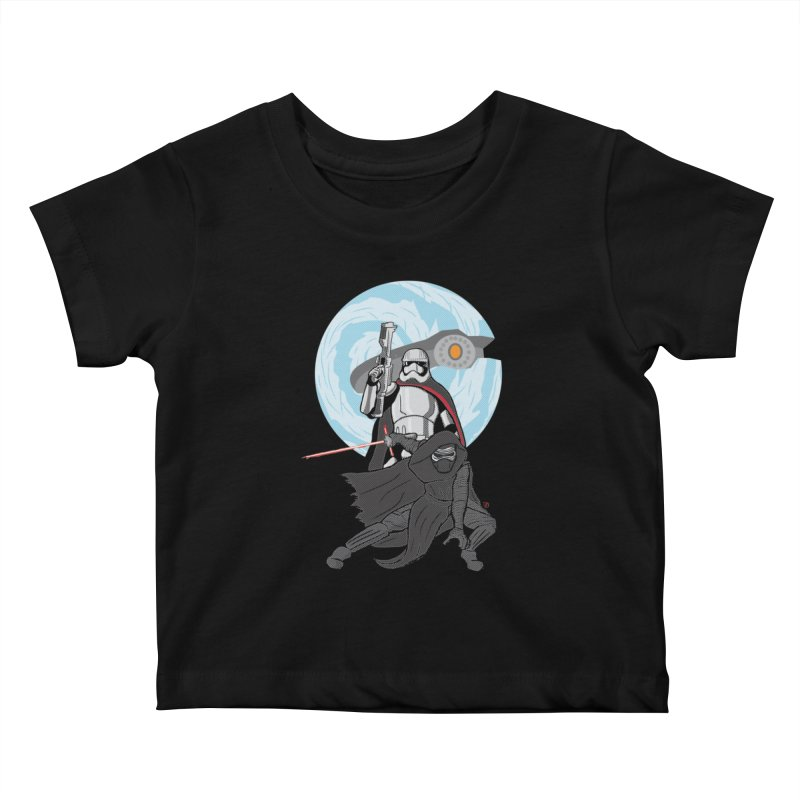 First Order Kids Baby T-Shirt by Joel Siegel's Artist Shop
