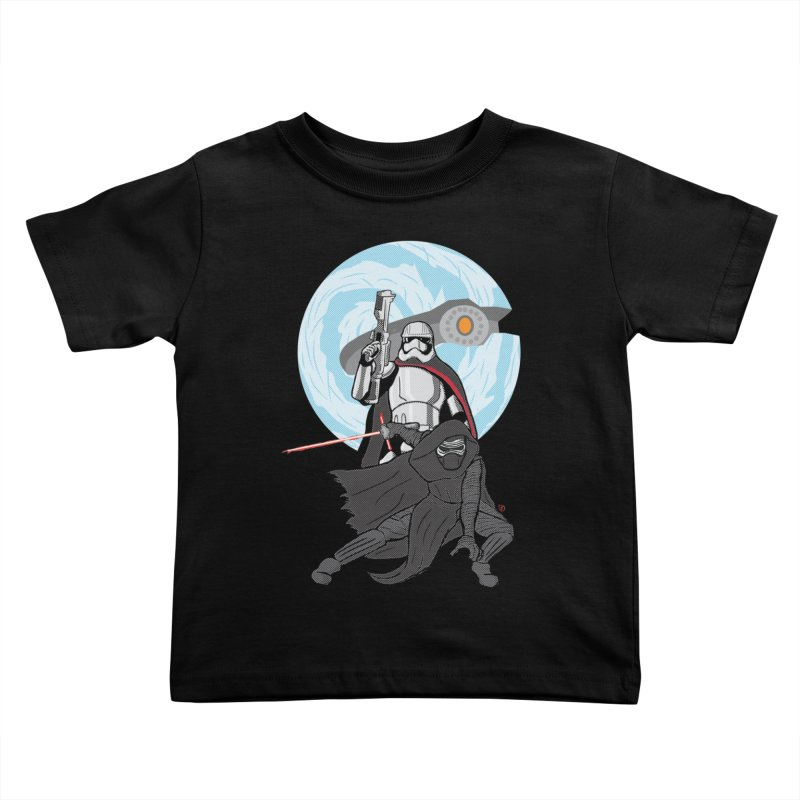 First Order Kids Toddler T-Shirt by Joel Siegel's Artist Shop