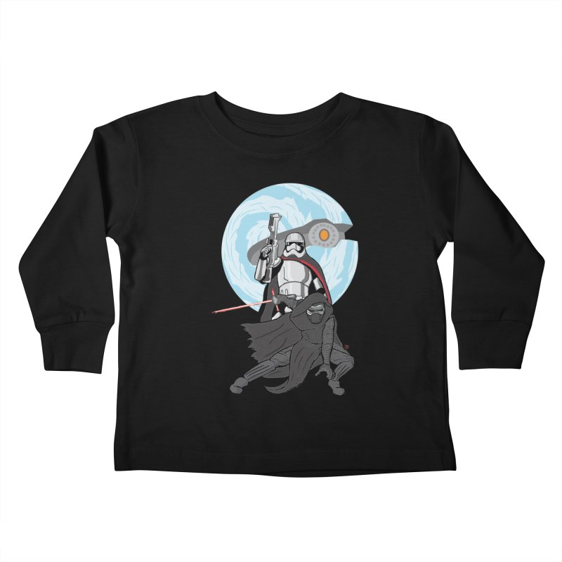 First Order Kids Toddler Longsleeve T-Shirt by Joel Siegel's Artist Shop