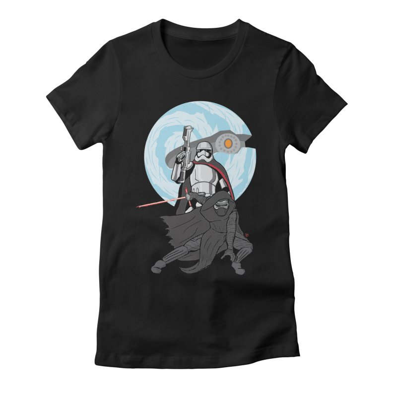 First Order Women's Fitted T-Shirt by Joel Siegel's Artist Shop