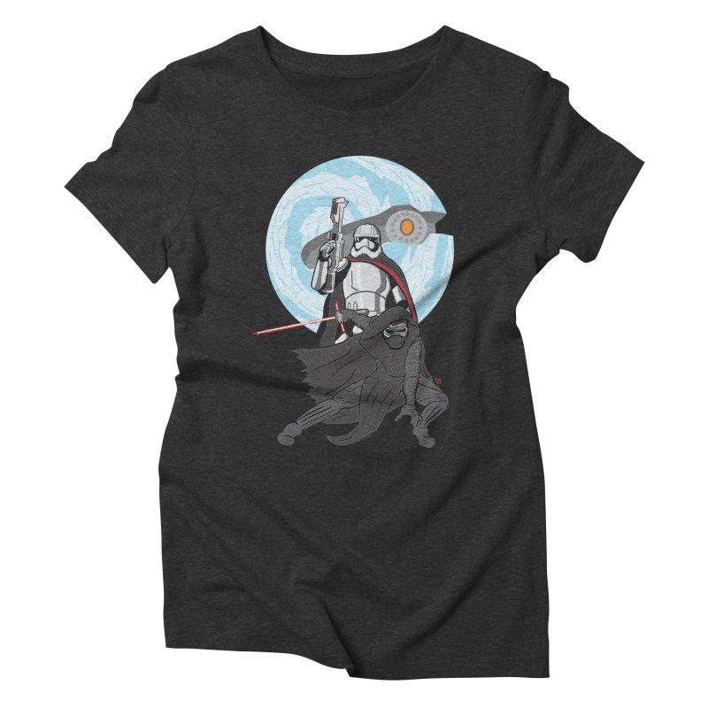 First Order Women's Triblend T-Shirt by Joel Siegel's Artist Shop