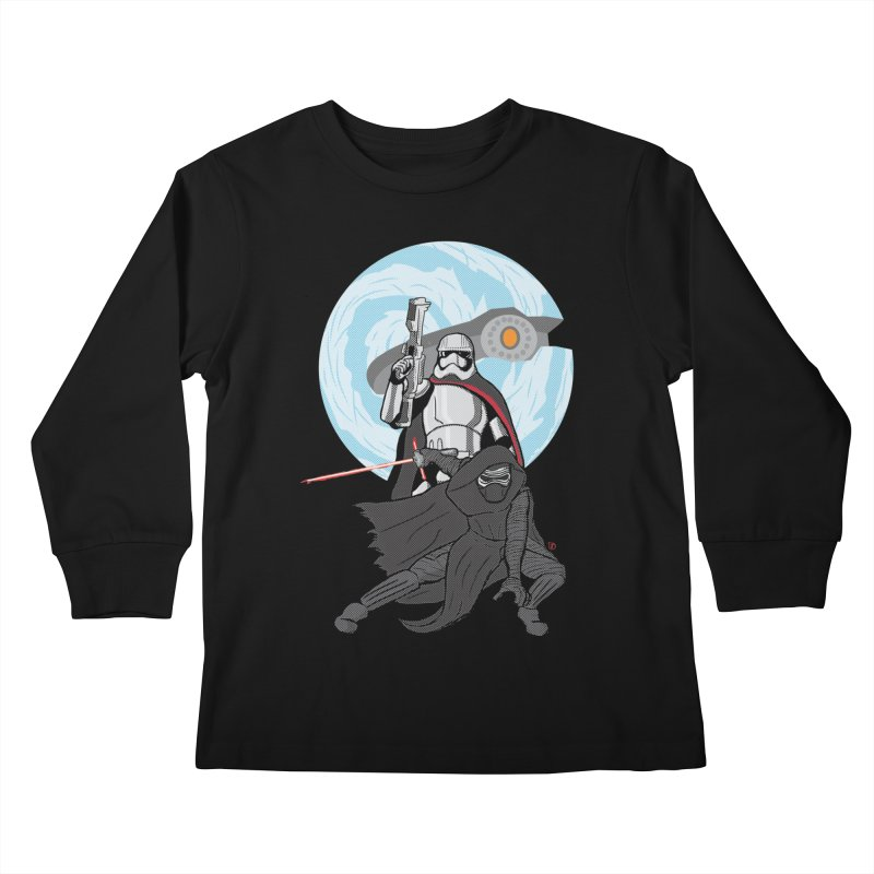 First Order Kids Longsleeve T-Shirt by Joel Siegel's Artist Shop