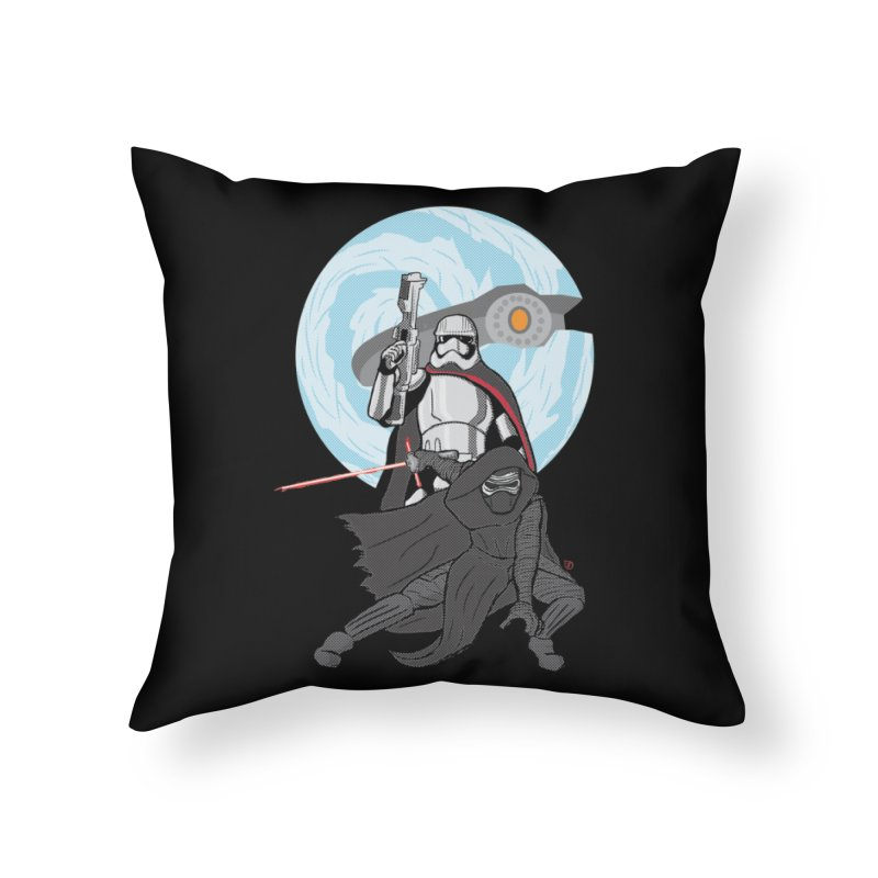 First Order Home Throw Pillow by Joel Siegel's Artist Shop