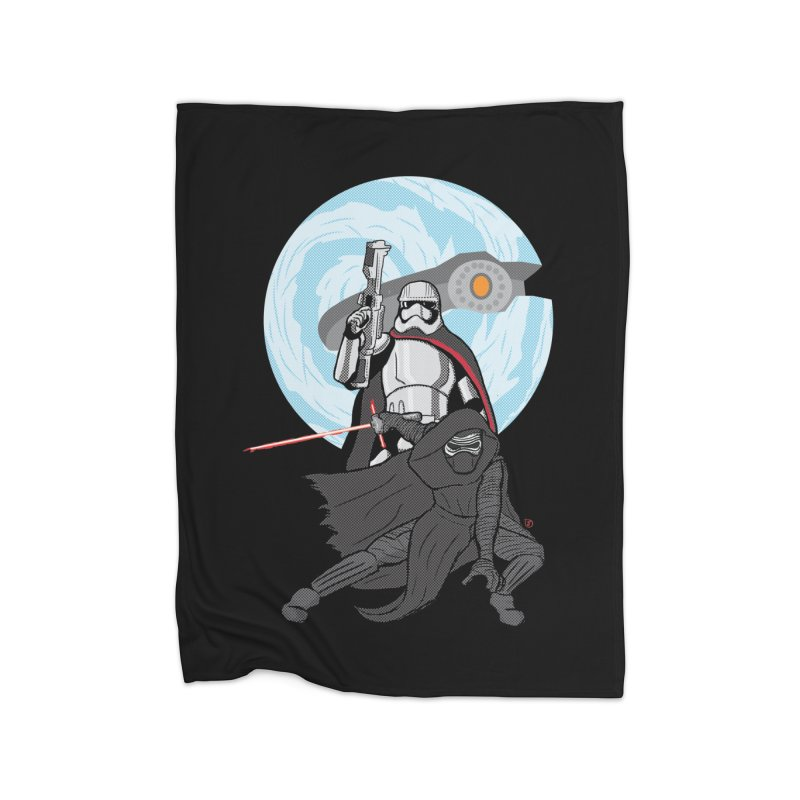 First Order Home Fleece Blanket Blanket by Joel Siegel's Artist Shop
