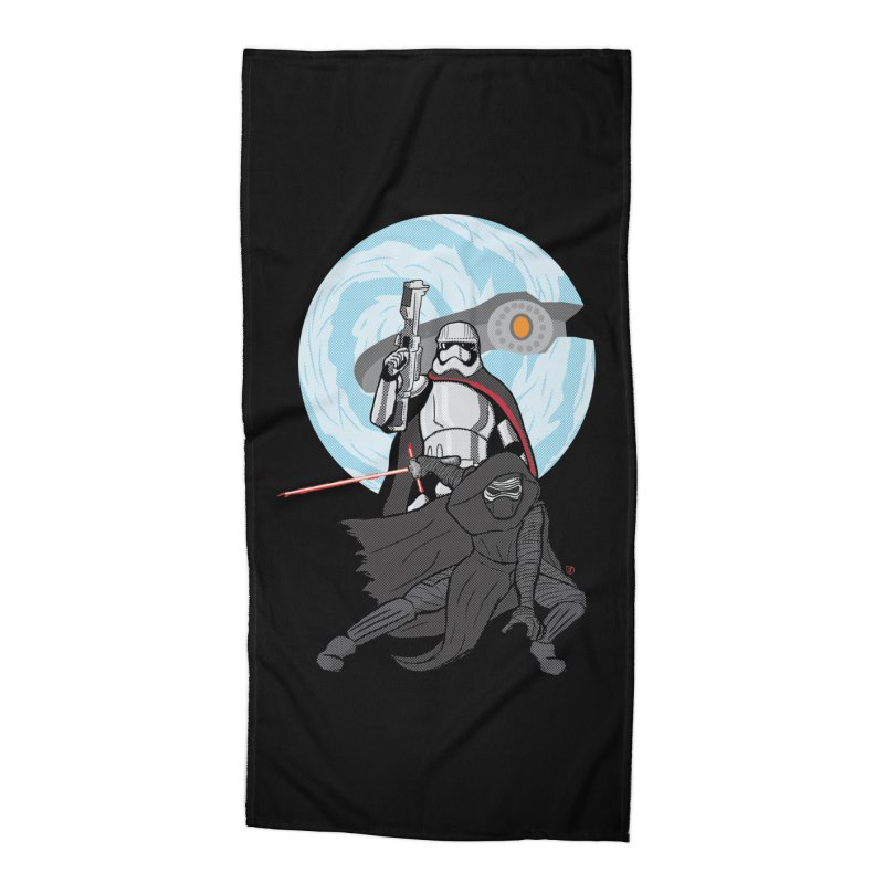 First Order Accessories Beach Towel by Joel Siegel's Artist Shop