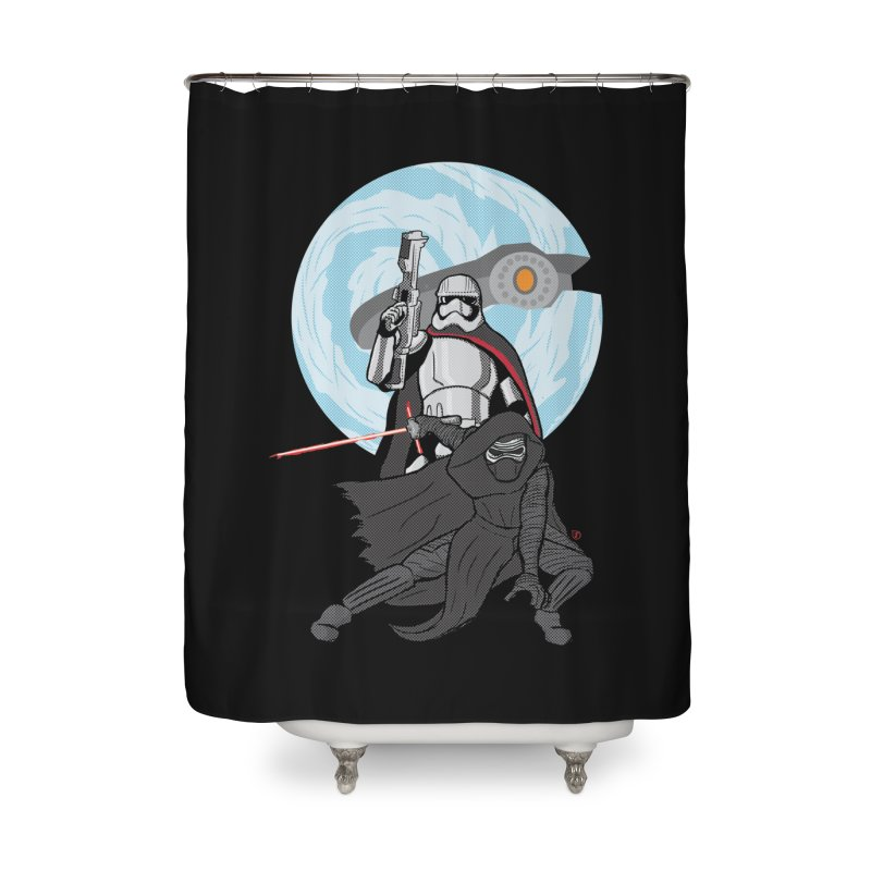 First Order Home Shower Curtain by Joel Siegel's Artist Shop