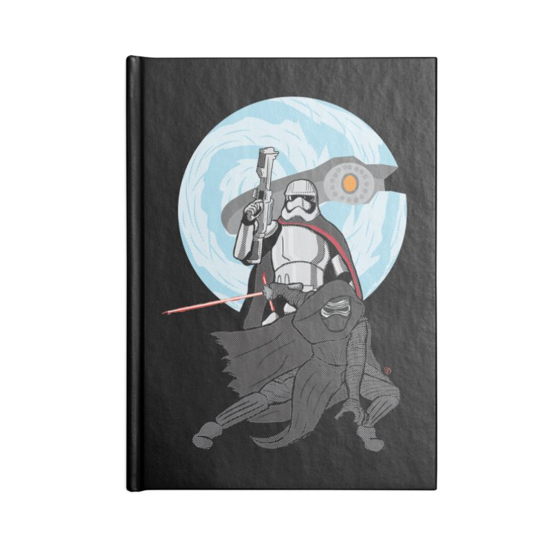 First Order Accessories Notebook by Joel Siegel's Artist Shop
