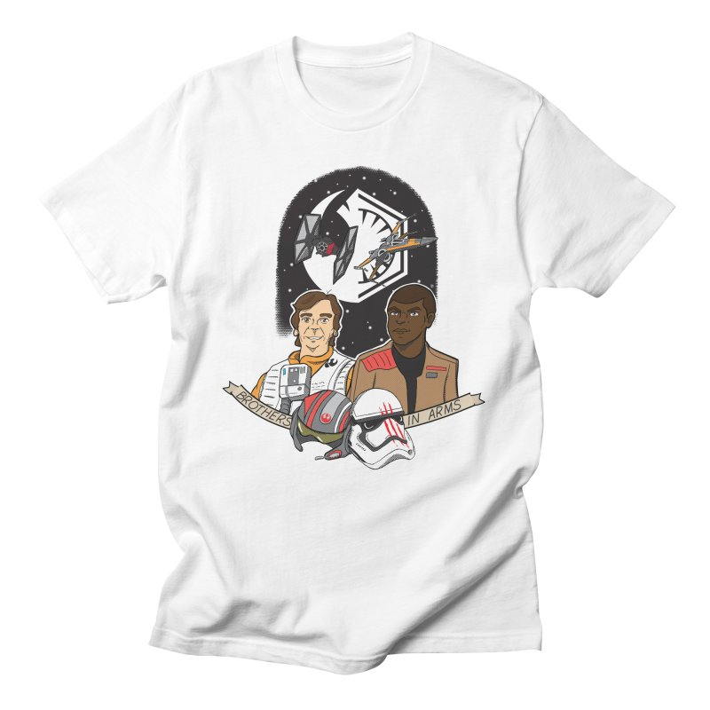 Brothers in Arms Women's Regular Unisex T-Shirt by Joel Siegel's Artist Shop