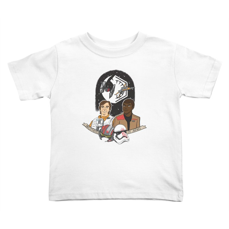 Brothers in Arms Kids Toddler T-Shirt by Joel Siegel's Artist Shop