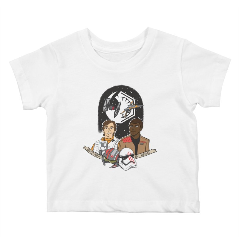 Brothers in Arms Kids Baby T-Shirt by Joel Siegel's Artist Shop