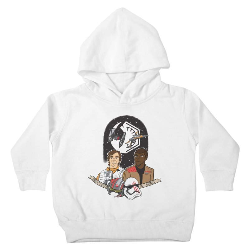 Brothers in Arms Kids Toddler Pullover Hoody by Joel Siegel's Artist Shop