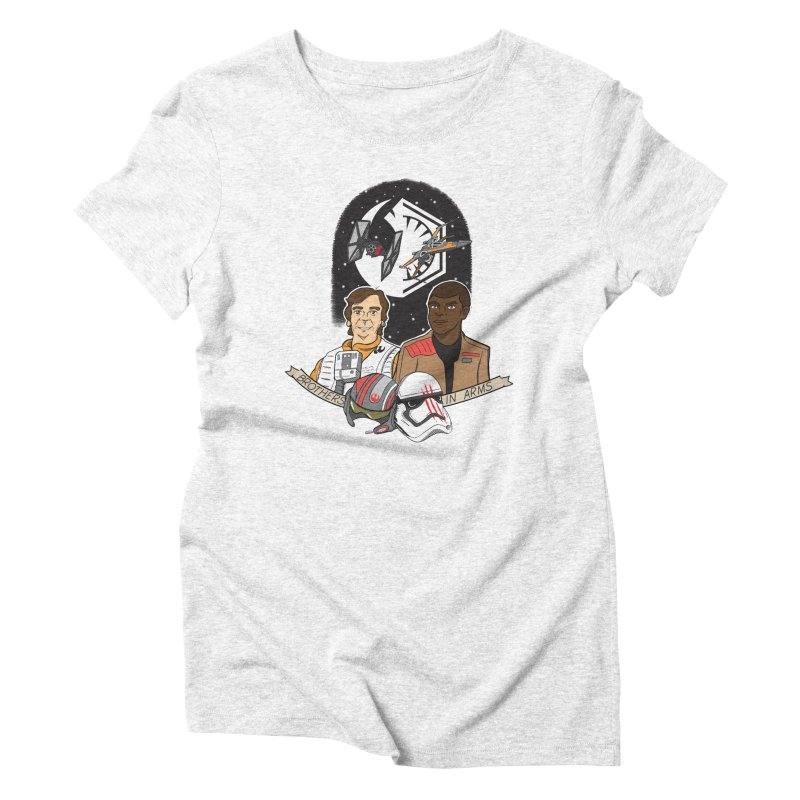 Brothers in Arms Women's Triblend T-shirt by Joel Siegel's Artist Shop
