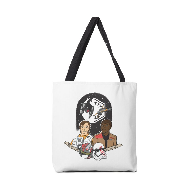 Brothers in Arms Accessories Tote Bag Bag by Joel Siegel's Artist Shop