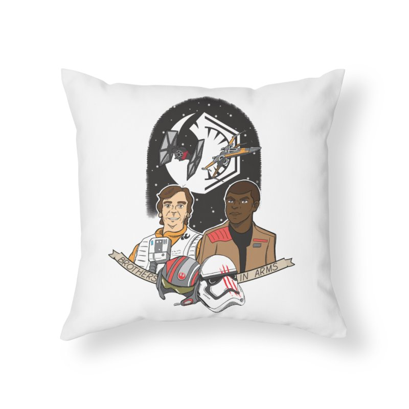 Brothers in Arms Home Throw Pillow by Joel Siegel's Artist Shop