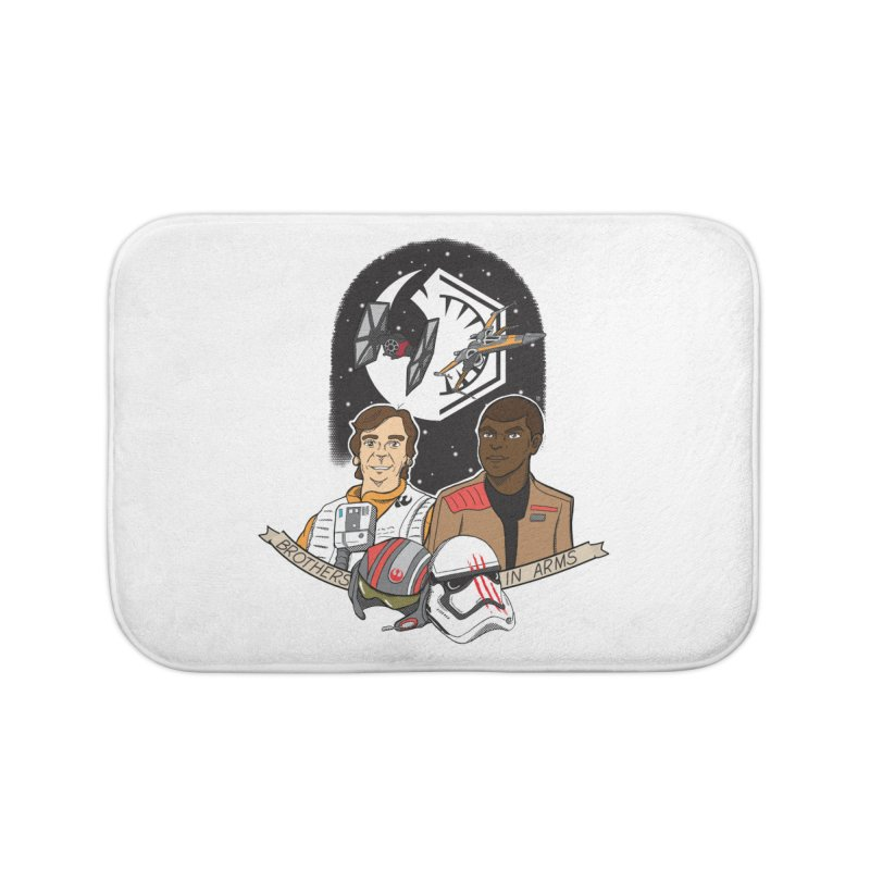Brothers in Arms Home Bath Mat by Joel Siegel's Artist Shop