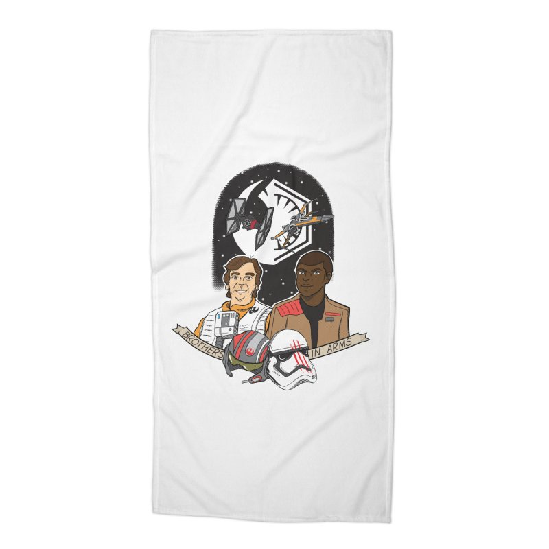 Brothers in Arms Accessories Beach Towel by Joel Siegel's Artist Shop