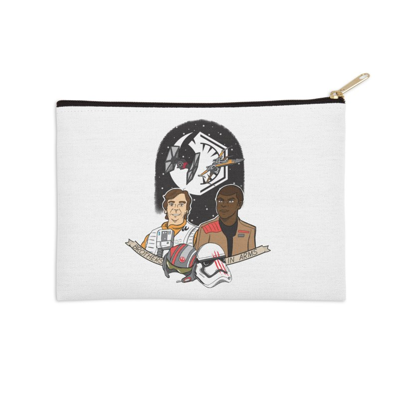 Brothers in Arms Accessories Zip Pouch by Joel Siegel's Artist Shop