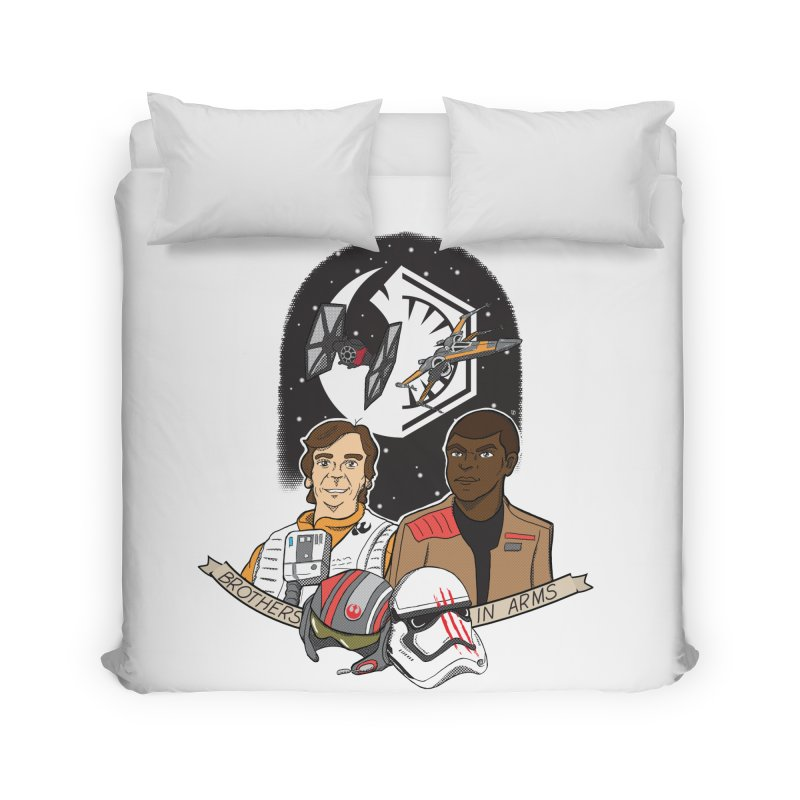 Brothers in Arms Home Duvet by Joel Siegel's Artist Shop