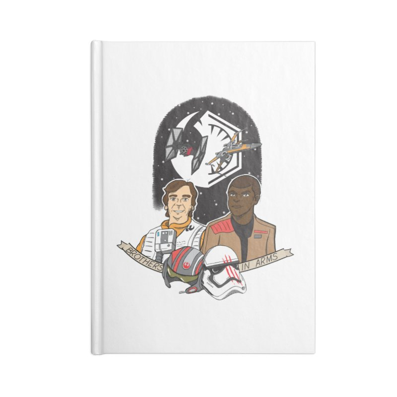 Brothers in Arms Accessories Notebook by Joel Siegel's Artist Shop