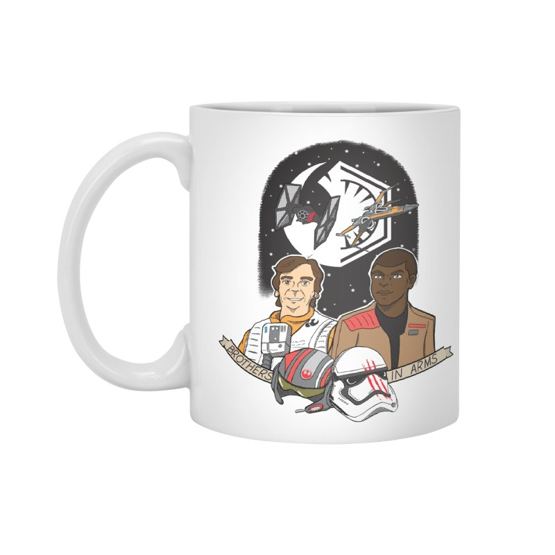 Brothers in Arms Accessories Mug by Joel Siegel's Artist Shop