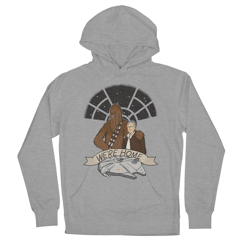 We're Home Men's Pullover Hoody by Joel Siegel's Artist Shop