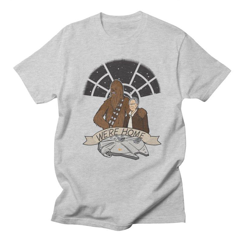 We're Home Women's Unisex T-Shirt by Joel Siegel's Artist Shop