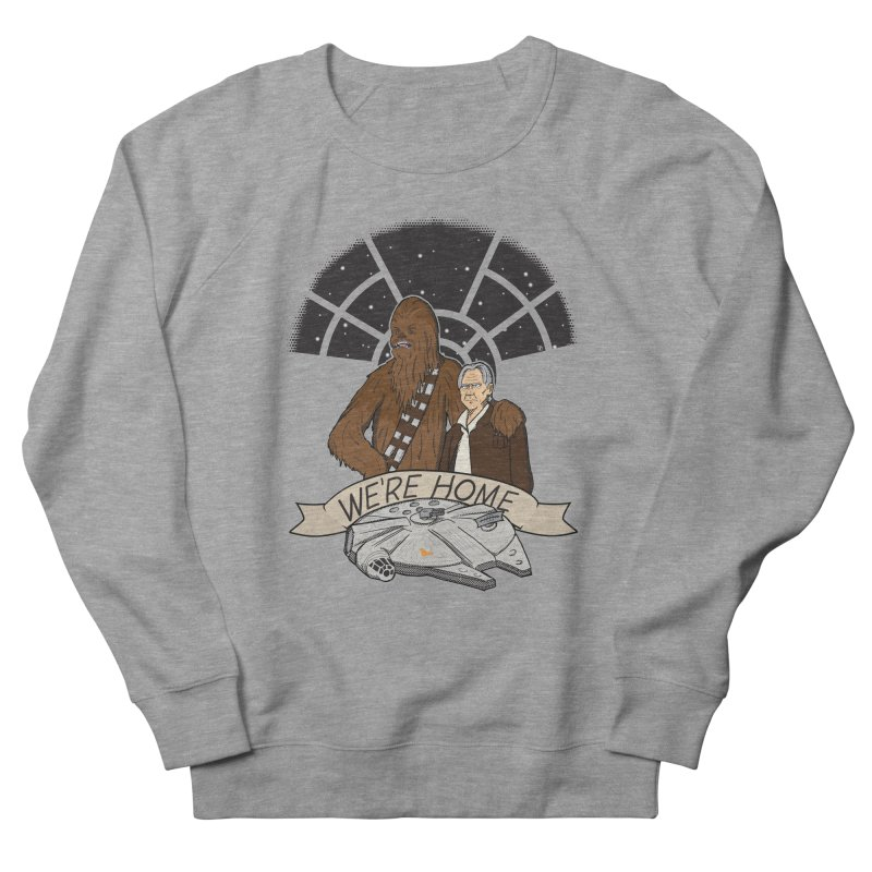We're Home Men's Sweatshirt by Joel Siegel's Artist Shop