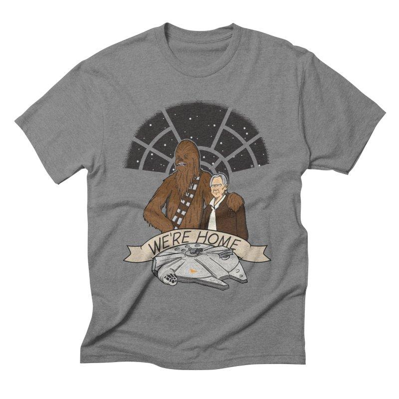 We're Home Men's Triblend T-shirt by Joel Siegel's Artist Shop