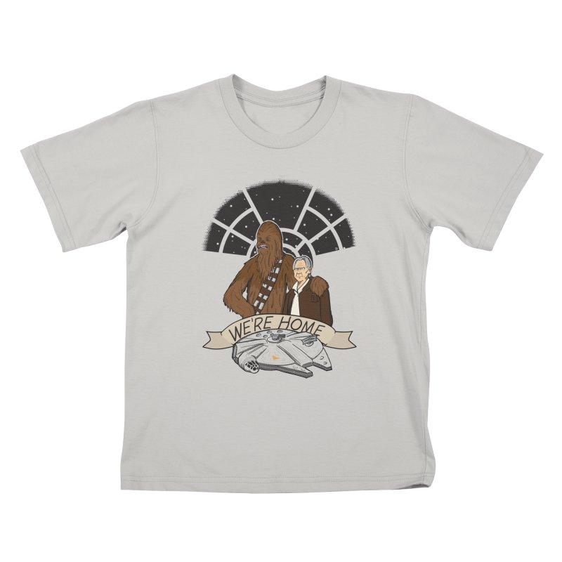 We're Home Kids T-shirt by Joel Siegel's Artist Shop