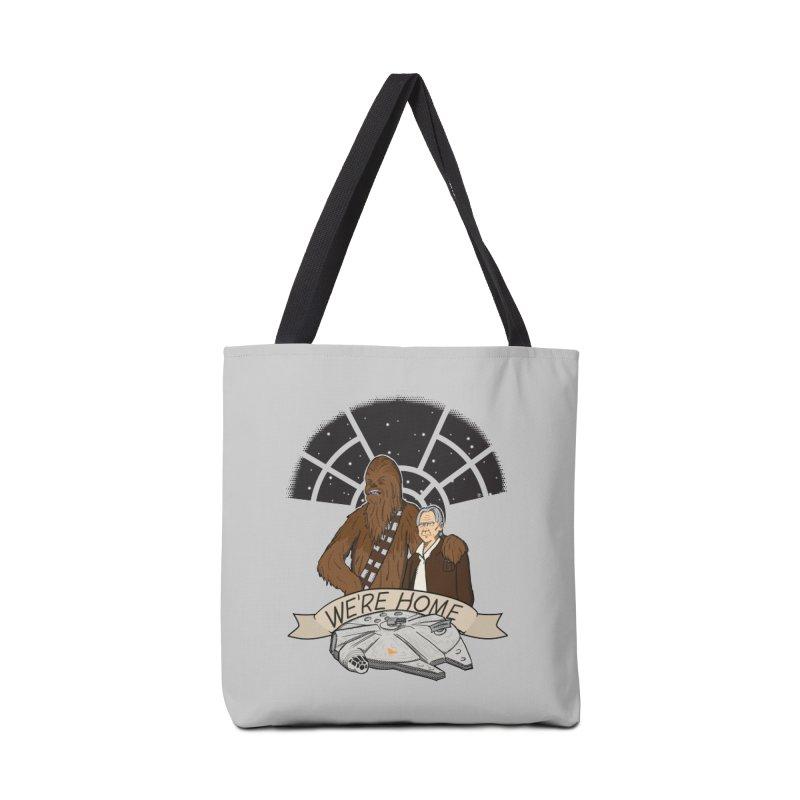 We're Home Accessories Tote Bag Bag by Joel Siegel's Artist Shop