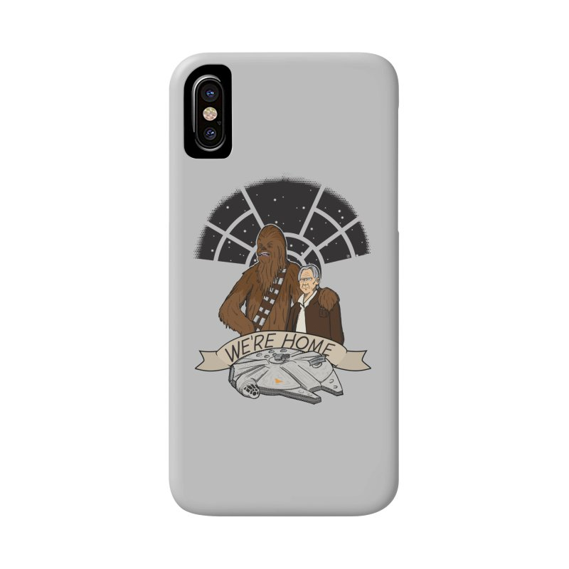 We're Home Accessories Phone Case by Joel Siegel's Artist Shop
