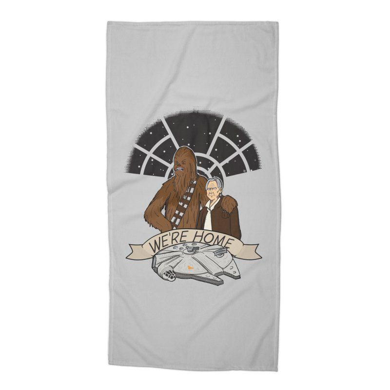 We're Home Accessories Beach Towel by Joel Siegel's Artist Shop